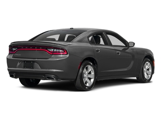 Destroyer Gray Clearcoat 2017 Dodge Charger Pictures Charger Sedan 4D SE AWD V6 photos rear view