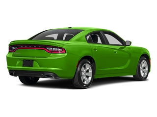 Green Go Clearcoat 2017 Dodge Charger Pictures Charger Sedan 4D SE V6 photos rear view