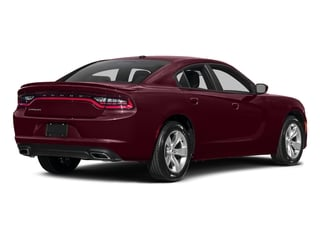 Octane Red Pearlcoat 2017 Dodge Charger Pictures Charger Sedan 4D SE AWD V6 photos rear view
