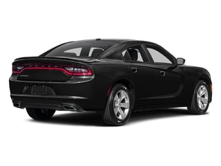 Pitch Black Clearcoat 2017 Dodge Charger Pictures Charger SE RWD photos rear view