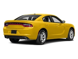 Yellow Jacket Clearcoat 2017 Dodge Charger Pictures Charger Sedan 4D SE AWD V6 photos rear view