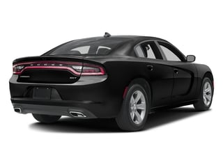 Pitch Black Clearcoat 2017 Dodge Charger Pictures Charger Sedan 4D SXT AWD V6 photos rear view