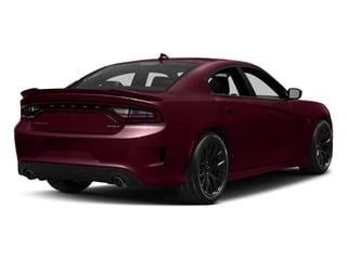 Octane Red Pearlcoat 2017 Dodge Charger Pictures Charger Sedan 4D SRT Hellcat V8 Supercharged photos rear view