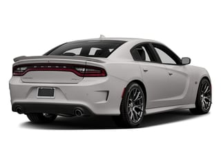 Destroyer Gray Clearcoat 2017 Dodge Charger Pictures Charger Sedan 4D SRT 392 V8 photos rear view