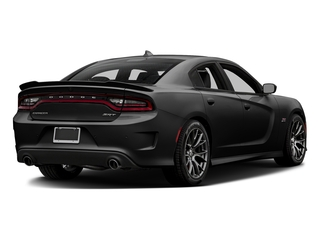 Pitch Black Clearcoat 2017 Dodge Charger Pictures Charger Sedan 4D SRT 392 V8 photos rear view