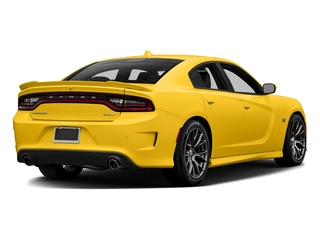 Yellow Jacket Clearcoat 2017 Dodge Charger Pictures Charger Sedan 4D SRT 392 V8 photos rear view