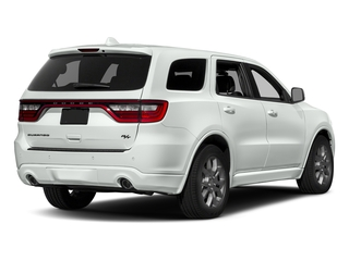 White Knuckle Clearcoat 2017 Dodge Durango Pictures Durango Utility 4D R/T AWD V8 photos rear view