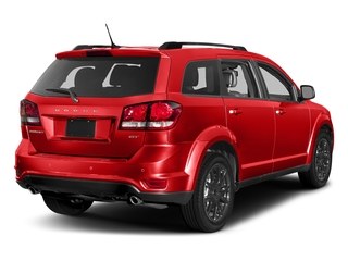 Blood Orange Clearcoat 2017 Dodge Journey Pictures Journey Utility 4D GT 2WD V6 photos rear view