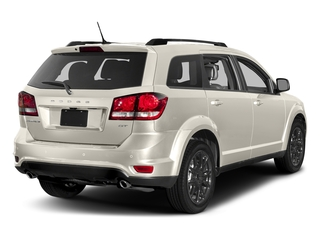 Vice White 2017 Dodge Journey Pictures Journey GT FWD photos rear view