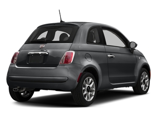 Granito Lucente (Granite Crystal) 2017 FIAT 500 Pictures 500 Lounge Hatch photos rear view