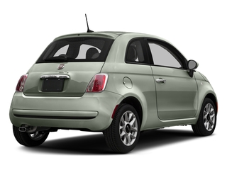 Verde Chiaro (Light Green) 2017 FIAT 500 Pictures 500 Lounge Hatch photos rear view