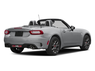 Grigio Argento (Aluminum) 2017 FIAT 124 Spider Pictures 124 Spider Conv 2D Elaborazione Abarth I4 Turbo photos rear view