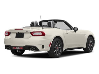 Bianco Perla (Tri-Coat White) 2017 FIAT 124 Spider Pictures 124 Spider Conv 2D Elaborazione Abarth I4 Turbo photos rear view