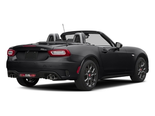 Nero Cinema Jet Black 2017 FIAT 124 Spider Pictures 124 Spider Conv 2D Elaborazione Abarth I4 Turbo photos rear view