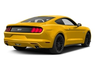 Triple Yellow Tri-Coat 2017 Ford Mustang Pictures Mustang Coupe 2D GT V8 photos rear view