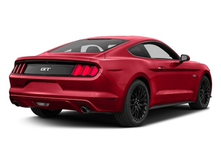Race Red 2017 Ford Mustang Pictures Mustang Coupe 2D GT V8 photos rear view
