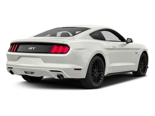 White Platinum Metallic Tri-Coat 2017 Ford Mustang Pictures Mustang Coupe 2D GT V8 photos rear view