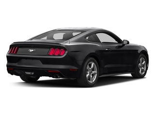 Shadow Black 2017 Ford Mustang Pictures Mustang Coupe 2D EcoBoost I4 Turbo photos rear view