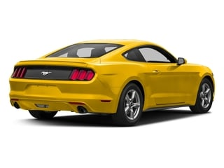 Triple Yellow Tri-Coat 2017 Ford Mustang Pictures Mustang Coupe 2D EcoBoost I4 Turbo photos rear view