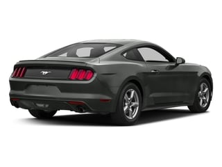 Magnetic Metallic 2017 Ford Mustang Pictures Mustang Coupe 2D EcoBoost I4 Turbo photos rear view
