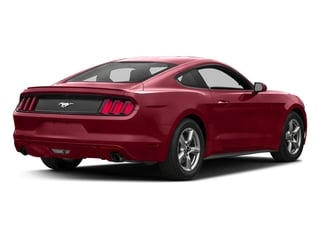 Ruby Red Metallic Tinted Clearcoat 2017 Ford Mustang Pictures Mustang Coupe 2D EcoBoost I4 Turbo photos rear view