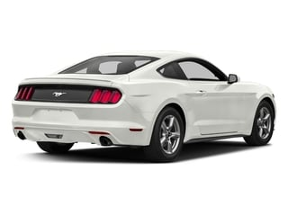 White Platinum Metallic Tri-Coat 2017 Ford Mustang Pictures Mustang Coupe 2D EcoBoost I4 Turbo photos rear view