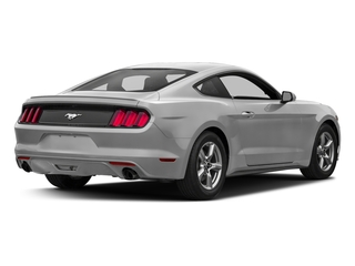 Ingot Silver Metallic 2017 Ford Mustang Pictures Mustang Coupe 2D EcoBoost I4 Turbo photos rear view