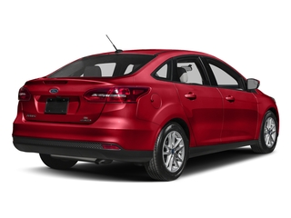 Race Red 2017 Ford Focus Pictures Focus Sedan 4D SE I4 photos rear view