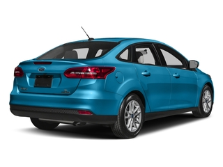 Blue Candy Metallic Tinted Clearcoat 2017 Ford Focus Pictures Focus Sedan 4D SE I4 photos rear view
