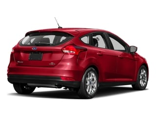 Race Red 2017 Ford Focus Pictures Focus Hatchback 5D SE I4 photos rear view