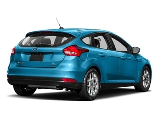 Blue Candy Metallic Tinted Clearcoat 2017 Ford Focus Pictures Focus Hatchback 5D SE I4 photos rear view