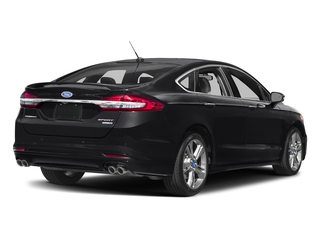 Shadow Black 2017 Ford Fusion Pictures Fusion Sedan 4D Sport EcoBoost V4 Turbo photos rear view