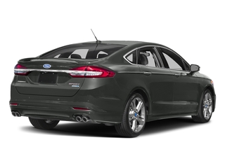 Magnetic 2017 Ford Fusion Pictures Fusion Sedan 4D Sport EcoBoost V4 Turbo photos rear view
