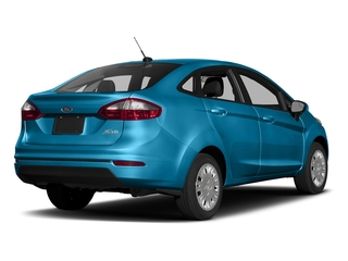 Blue Candy Metallic Tinted Clearcoat 2017 Ford Fiesta Pictures Fiesta Sedan 4D SE I4 photos rear view