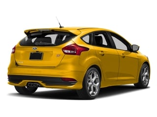 Triple Yellow Metallic Tri-Coat 2017 Ford Focus Pictures Focus Hatchback 5D ST I4 Turbo photos rear view