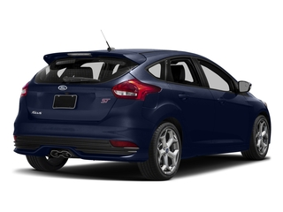 Kona Blue Metallic 2017 Ford Focus Pictures Focus Hatchback 5D ST I4 Turbo photos rear view