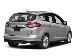 Ingot Silver Metallic 2017 Ford C-Max Hybrid Pictures C-Max Hybrid Hatchback 5D SE I4 Hybrid photos rear view