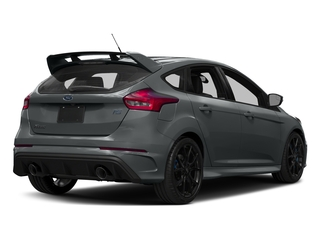 Stealth Gray 2017 Ford Focus Pictures Focus Hatchback 5D RS AWD I4 Turbo photos rear view