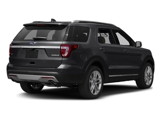Smoked Quartz Metallic Tinted Clearcoat 2017 Ford Explorer Pictures Explorer Utility 4D XLT 4WD V6 photos rear view