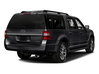 Shadow Black 2017 Ford Expedition EL Pictures Expedition EL Utility 4D XLT 4WD V6 Turbo photos rear view