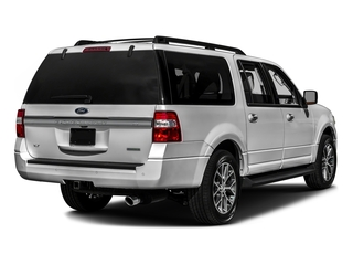 Ingot Silver 2017 Ford Expedition EL Pictures Expedition EL Utility 4D XLT 4WD V6 Turbo photos rear view