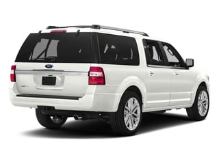 White Platinum Metallic Tri-Coat 2017 Ford Expedition EL Pictures Expedition EL Utility 4D Limited 2WD V6 Turbo photos rear view