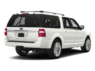 White Platinum Metallic Tri-Coat 2017 Ford Expedition EL Pictures Expedition EL Utility 4D Limited 4WD V6 Turbo photos rear view