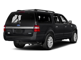 Shadow Black 2017 Ford Expedition EL Pictures Expedition EL Utility 4D King Ranch 4WD V6 Turbo photos rear view