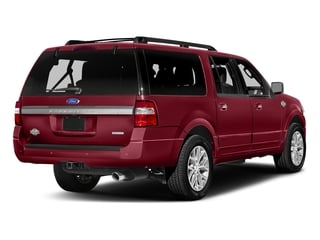 Ruby Red Metallic Tinted Clearcoat 2017 Ford Expedition EL Pictures Expedition EL Utility 4D King Ranch 4WD V6 Turbo photos rear view