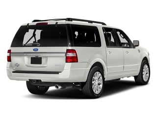 White Platinum Metallic Tri-Coat 2017 Ford Expedition EL Pictures Expedition EL Utility 4D King Ranch 4WD V6 Turbo photos rear view