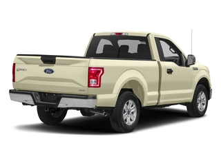 White Gold 2017 Ford F-150 Pictures F-150 Regular Cab XLT 4WD photos rear view
