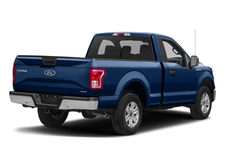 Lightning Blue 2017 Ford F-150 Pictures F-150 Regular Cab XLT 4WD photos rear view