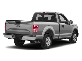 Ingot Silver Metallic 2017 Ford F-150 Pictures F-150 Regular Cab XLT 4WD photos rear view