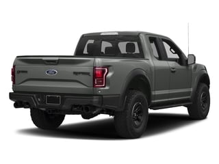 Magnetic Metallic 2017 Ford F-150 Pictures F-150 SuperCab Raptor 4WD photos rear view